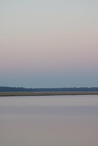 park pink blue sunset sky reflection nature water yellow georgia outdoors evening pentax dusk horizon crookedriver k10d crookedriverstatepark tamronaf70300mmf456dildmacro photobymikewacht