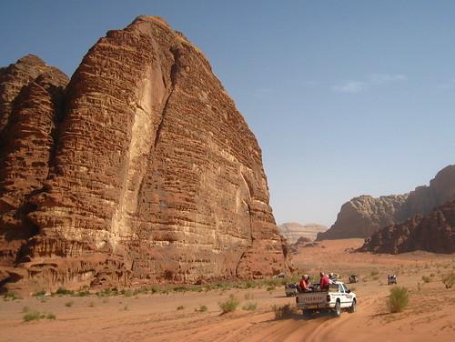 Desert of Wadi Rum, Jordan