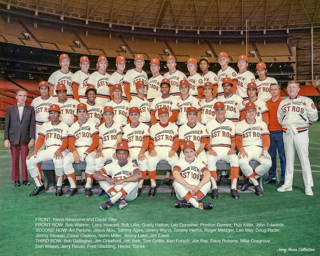 Astros Team >> 1973 Houston Astros 9 1973 Houston Astros Team Photo This