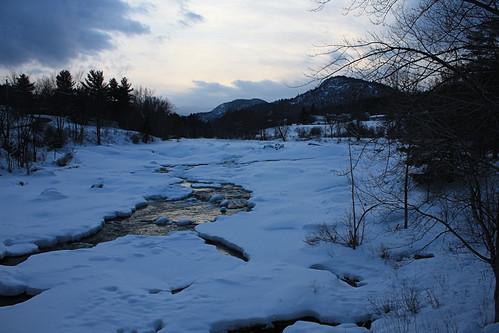 sunset river ausable ausableriver