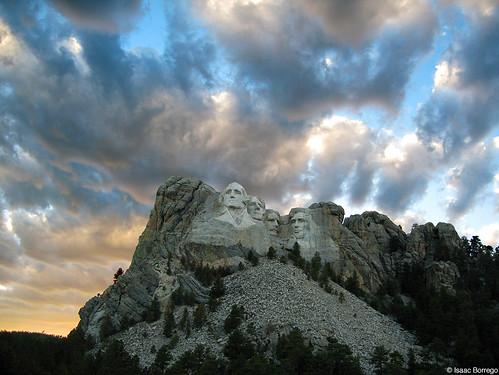 Mount Rushmore Sunset - South Dakota