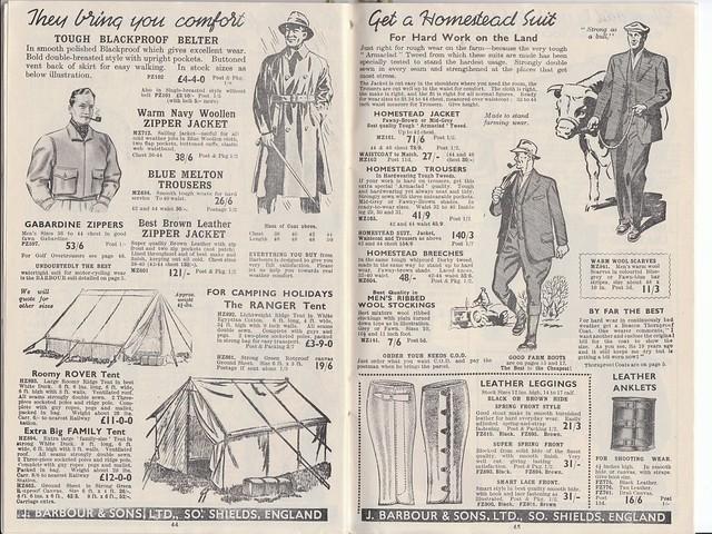 Barbour 1953 Catalogue 22