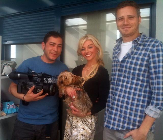 Foto de Barbie con los cámaras