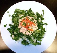 Wasabi Salmon Salad
