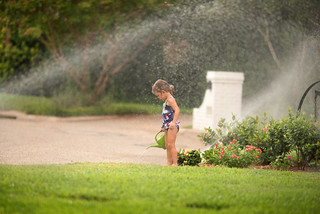 Watering the yard | by donnierayjones