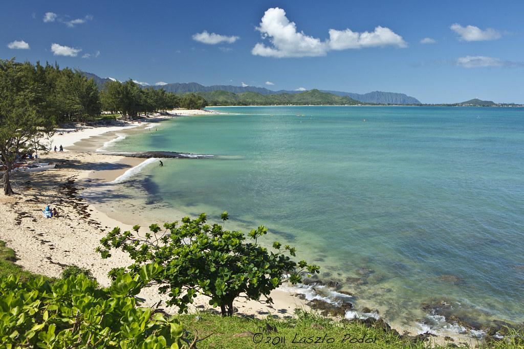Kailua Beach Park Oahu Hawaii Usa Laszlofromhalifax