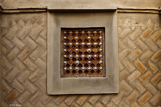 architectural detail of mud house in Djenne, Mali | by Phil Marion (177 million views - THANKS)