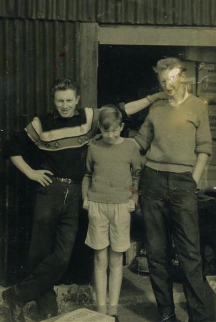 Pinkie, John Burgess & Archie Cameron