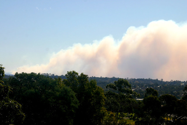 Blue Mountains Bushfire
