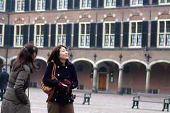 tourists on Binnenhof