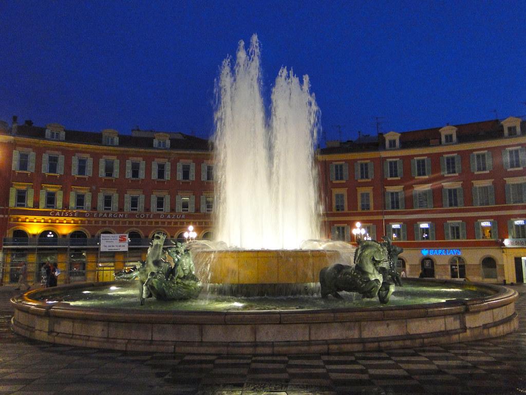 La fontaine du soleil