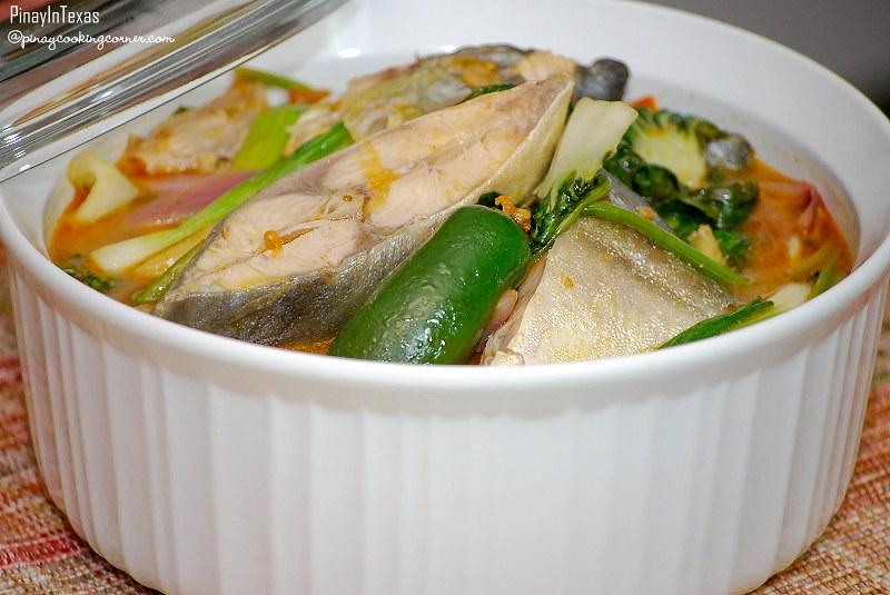Sinigang Na Pompano Sa Miso Sinigang Na Isda Sa Miso Fish Flickr