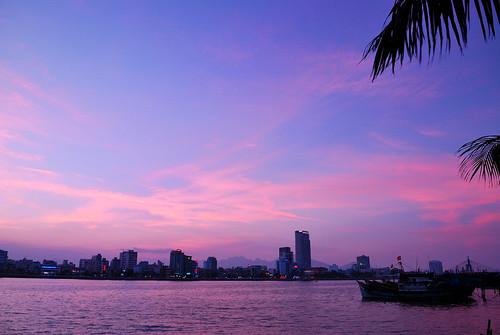 city night river đànẵng sônghàn lặnglẽ mygearandme pwpartlycloudy