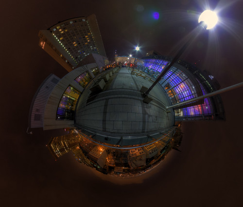 Hilton & Convention Center - Panoramic in Quebec City | by haban hero