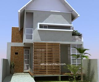 rumah tropis modern astudio   gambar desain rumah oleh