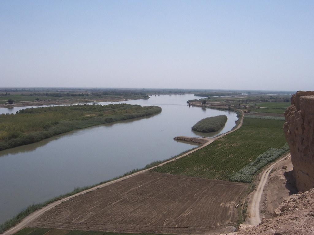 Euphrates River by Dura-Europus, Syria. (V)   AWIB-ISAW ...