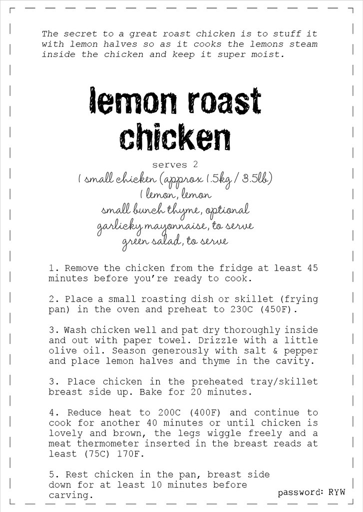 simple roast chicken recipe2