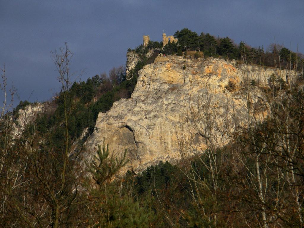 Klettersteig Türkensturz : Türkensturz der markante ist in nachmittagu flickr