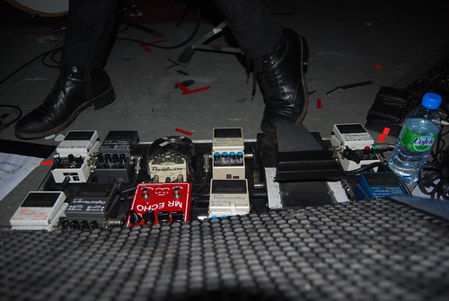 Mono Live (Brudenell Social Club) Taka's Pedalboard | by seanmalachyPhotography