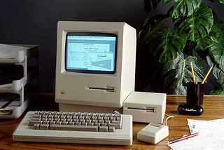 Apple Computer with Excel 1.0 for Macintosh Screenshot 1985 | by Microsoft Sweden