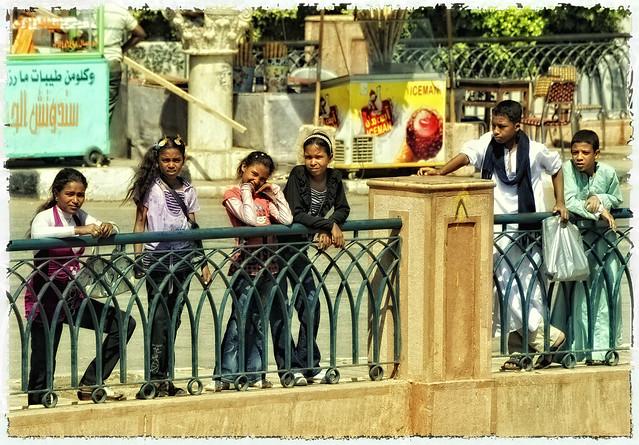 Kinder am Nil