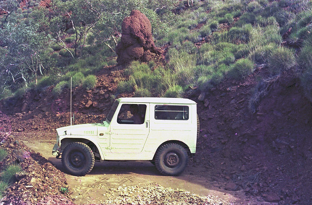 Wittenoom Gorge, End of the Road - 1978