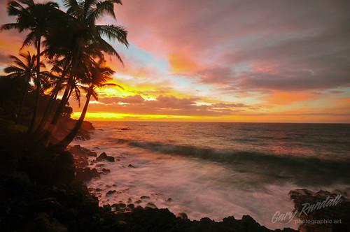 ocean clouds sunrise kalapana hawaii waves thebigisland puna mikeandmel garyrandall dsc14792jpg mikemelwed