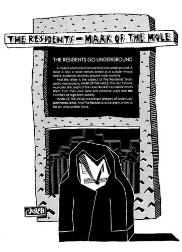 Mark of the Mole Print Ad