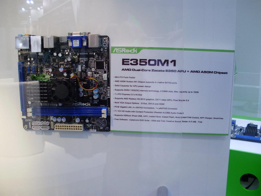 ASRock E350M1 Mini-ITX | zedriq | Flickr