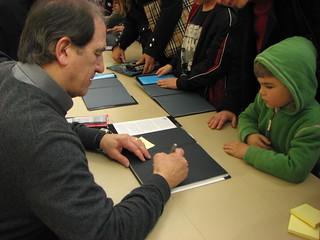Author David Aguilar | by San José Public Library
