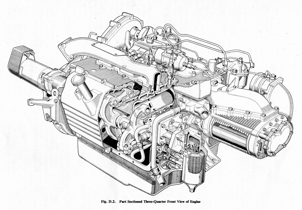Commer Ts3 Diesel Engine 34 View