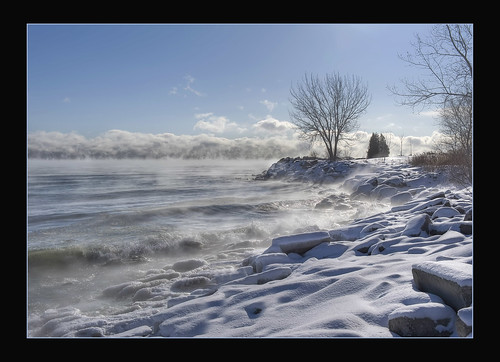 park winter lake snow ontario canada water landscape interesting nikon great lakes explore scarborough nikkor hdr bluffers 2470mmf28 explored d700