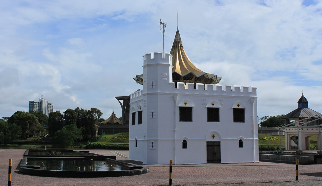 Square tower, Kuching