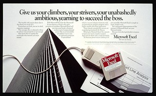 Excel for Macintosh Ad | by Microsoft Sweden