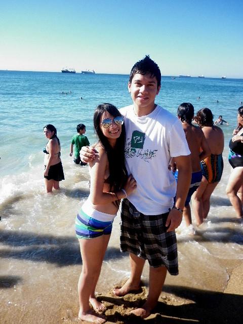 Beach   Con mi mejor amigo en Viña (=   Todo parece ...