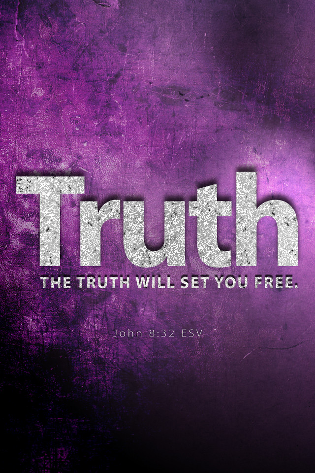 John 8 32 640x960 Iphone Background Wallpaper Bible Lock Flickr