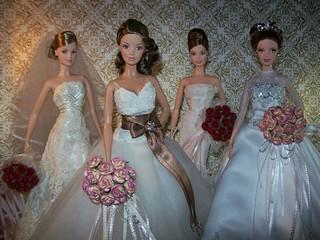 ModelMuse Barbie Designer Brides Collection | by irahhh