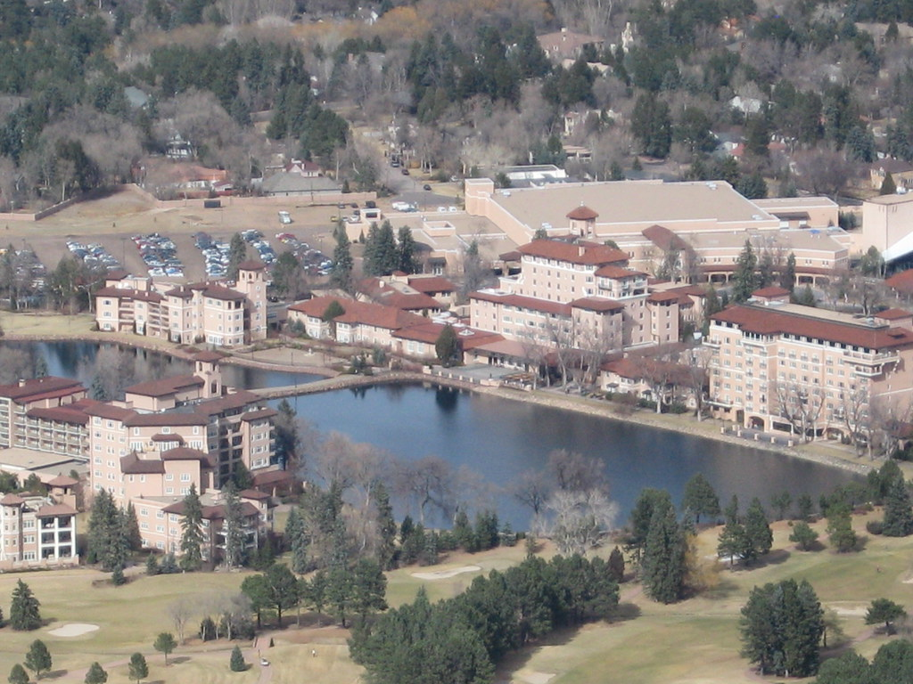 The Broadmoor from Shrine