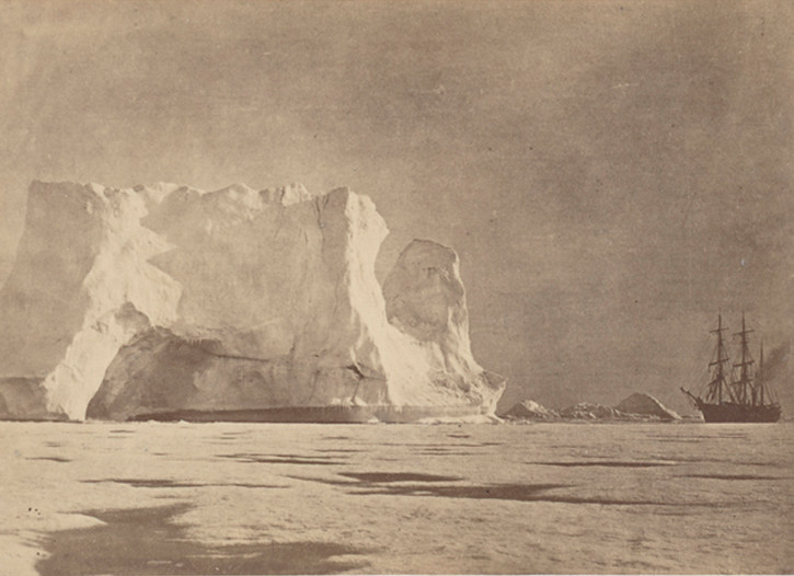 """Arctic Regions: Illustrated with Photographs Taken on an Art Expedition to Greenland"""