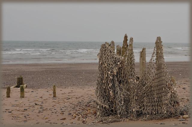 Dawlish Warren fishing nets