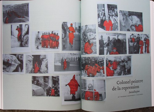 "Vagant 2008 / "" Colonel peintre de la repression "" 2008 