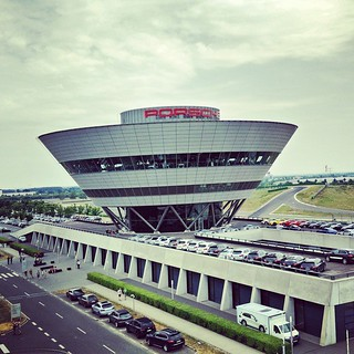 Just enjoying a nice day in the interesting #Porsche factory area in #Leipzig. | by jogep