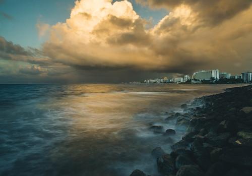 ocean sunset puertorico dusk sony sanjuan rokinon a6000 longexponsure emount