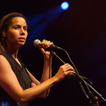 Mon, 20/07/2015 - 3:09pm - Rhiannon Giddens is joined by the Carolina Chocolate Drops at Prospect Park, July 18, 2015. Broadcast live on WFUV Public Radio. Photo by Gus Philippas/WFUV