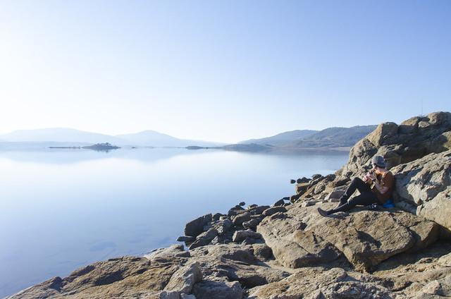 Chill sessions at Lake Jindabyne
