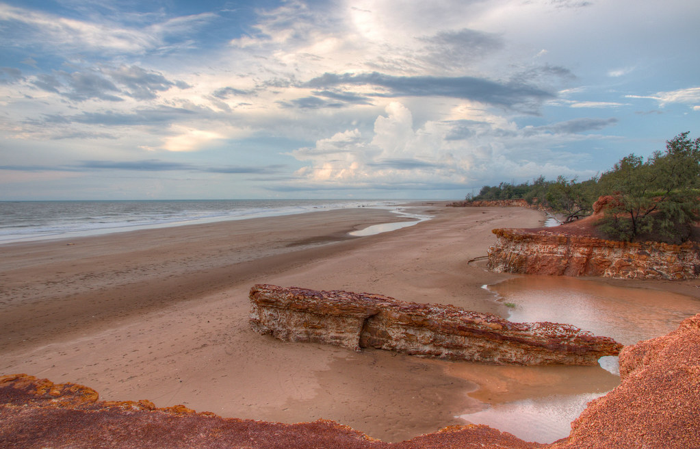 Dripstone Cliffs Casuarina Beach Darwin Northern Territory