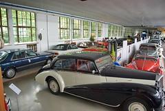 Merks Motor Museum Ausstellungshalle