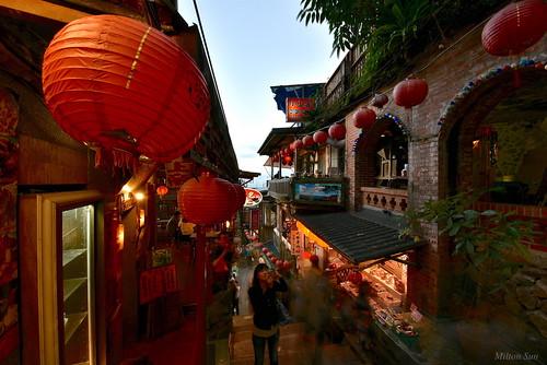 goldenage jioufen newtaipeicity taiwan cityscape nightscene architecture dusk building nightphotography vevening sunrise sunset landscape bright scenery outdoor 九份 新北市 淘金城 黃金歲月