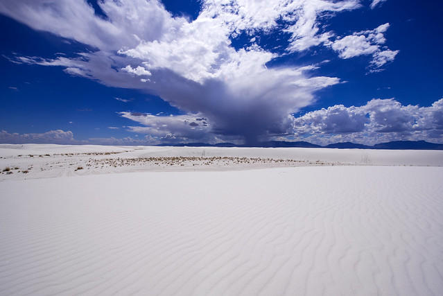 Great view - White Sands National Monument - New Mexico - USA