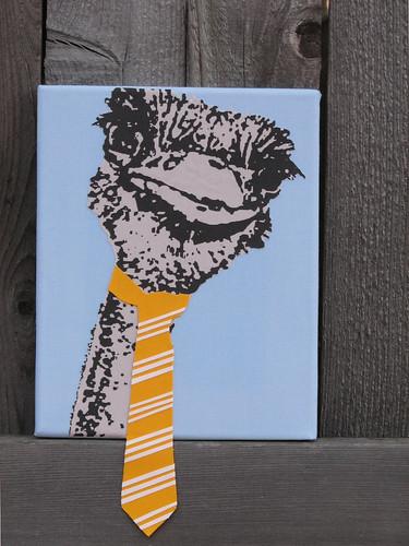 Ostrich Tie | by taniamc